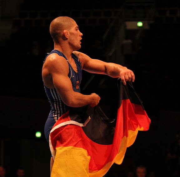 Ringen Bundesliga Olympisch mit Saba Bolaghi im MMA Spirit Frankfurt