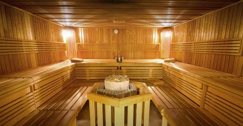 Wellness Sauna im MMA Spirit - entspannen nach dem Training bessere Regeneration in Frankfurt